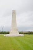 Mémorial du Nouvelle-Zélande de Longueval Photo libre de droits