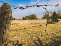 Mémorial et tombes de camp de concentration de Flossenburg photos stock