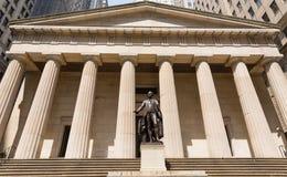 Mémorial fédéral George Washingto de hall de New York images stock