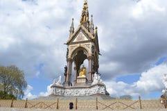 Mémorial Londres d'Albert photo libre de droits