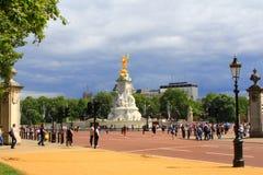 Mémorial Londres de Victoria images libres de droits