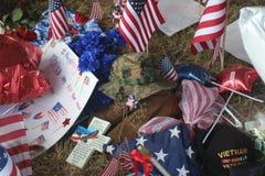 Mémorial militaire Images libres de droits
