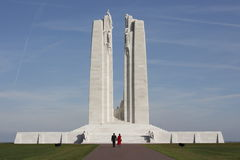 Mémorial national canadien de Vimy Photos libres de droits