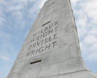 Mémorial national de frères de Wright Photographie stock libre de droits