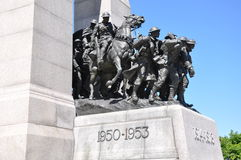 Mémorial national de guerre à Ottawa Photo stock