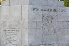 Mémorial national de la deuxième guerre mondiale à Washington, C.C Photos libres de droits
