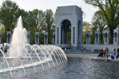 Mémorial national de la deuxième guerre mondiale à Washington, C.C Images libres de droits