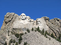 Mémorial national de Rushmore de support Images stock