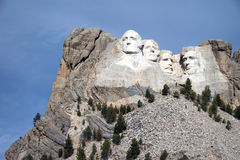 Mémorial national de rushmore de support Photographie stock libre de droits