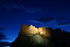 Mémorial national de Rushmore de support Image libre de droits