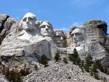Mémorial national de Rushmore de support Photo stock