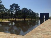 Mémorial national de Ville d'Oklahoma Images stock