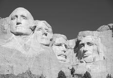 Mémorial national du mont Rushmore, Black Hills, le Dakota du Sud, Etats-Unis Images libres de droits