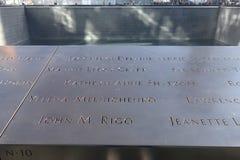 Mémorial national du 11 septembre Photo libre de droits