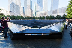 Mémorial national du 11 septembre dans le Lower Manhattan, New York City Photo stock