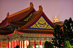 Mémorial national Taiwan de Chiang de théatre de l'$opéra image stock