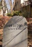 Mémorial neuf onze Images stock
