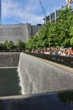 9/11 mémorial, New York Photos stock