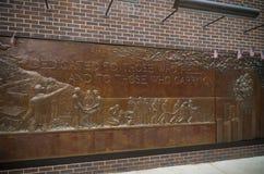 Mémorial New York de corps de sapeurs-pompiers Images libres de droits