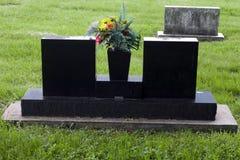 Mémorial noir Photos libres de droits