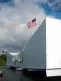 Mémorial Pearl Harbor de l'Arizona Images libres de droits