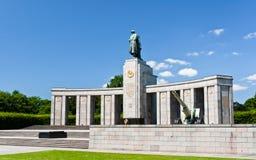 Mémorial soviétique de la guerre mondiale 2 à Berlin Photo libre de droits