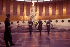 Mémorial sur Mamayev kurgan Photographie stock libre de droits