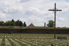 Mémorial tchèque d'holocauste Photographie stock libre de droits