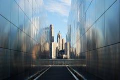 Mémorial vide de ciel Photographie stock libre de droits