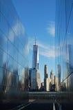 Mémorial vide de ciel Photo libre de droits