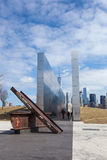 Mémorial vide de ciel Images stock