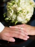 Ménages mariés Photo libre de droits