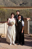 Ménages mariés heureux Photos libres de droits