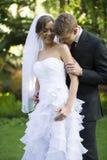 Ménages mariés nouvellement photographie stock