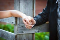 Ménages mariés par jeunes Images libres de droits