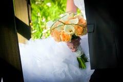 Ménages mariés par jeunes Photos stock