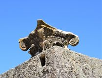 Roman ruins of Mérida Spain - ancient treasures. Mérida is the capital of the autonomous community of Extremadura, western central Spain. The population is 60 Stock Photo