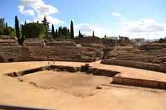 Mérida, circo romano Fotografía de archivo libre de regalías