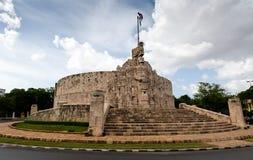 Mérida Monument à la patrie, Yucatan, Mexique Patria Monu Photographie stock
