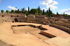 Mérida, römischer Zirkus Stockbilder
