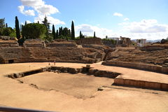 Mérida, römischer Zirkus Lizenzfreie Stockfotografie