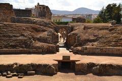 Mérida, römischer Zirkus, Korridor Lizenzfreie Stockfotografie