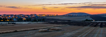 Mérida Sunset I Royalty Free Stock Photo