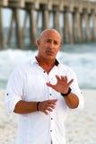 Météorologiste Jim Cantore Images libres de droits