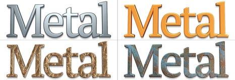 Métal Images stock