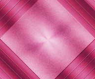 Métal balayé par texture métallique rose Images stock