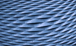 Métal bleu Images stock