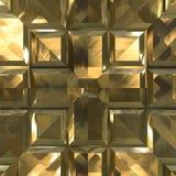 Métal d'or illustration libre de droits