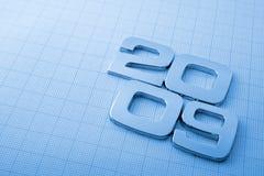 métal de 2009 chiffres Image libre de droits