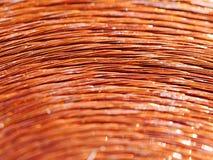 Métal de cuivre d'inducteur Photo libre de droits